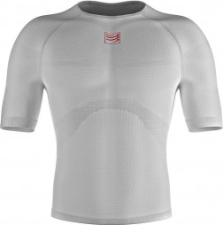 Compressport 3D Thermo Ultralight Camiseta Manga Corta - Blanca