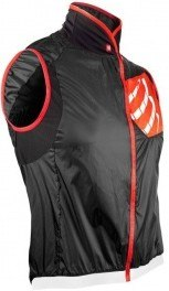 Compressport Cycling Hurricane WindProtect Vest -Negro