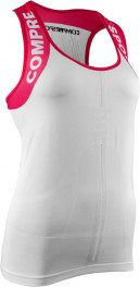 Compressport Trail Shirt Tank V2 Mujer Blanco