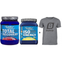 Pack Victory Endurance Total Recovery 1250 gr + Iso Energy 900 gr + Camiseta Exclusiva Bulevip