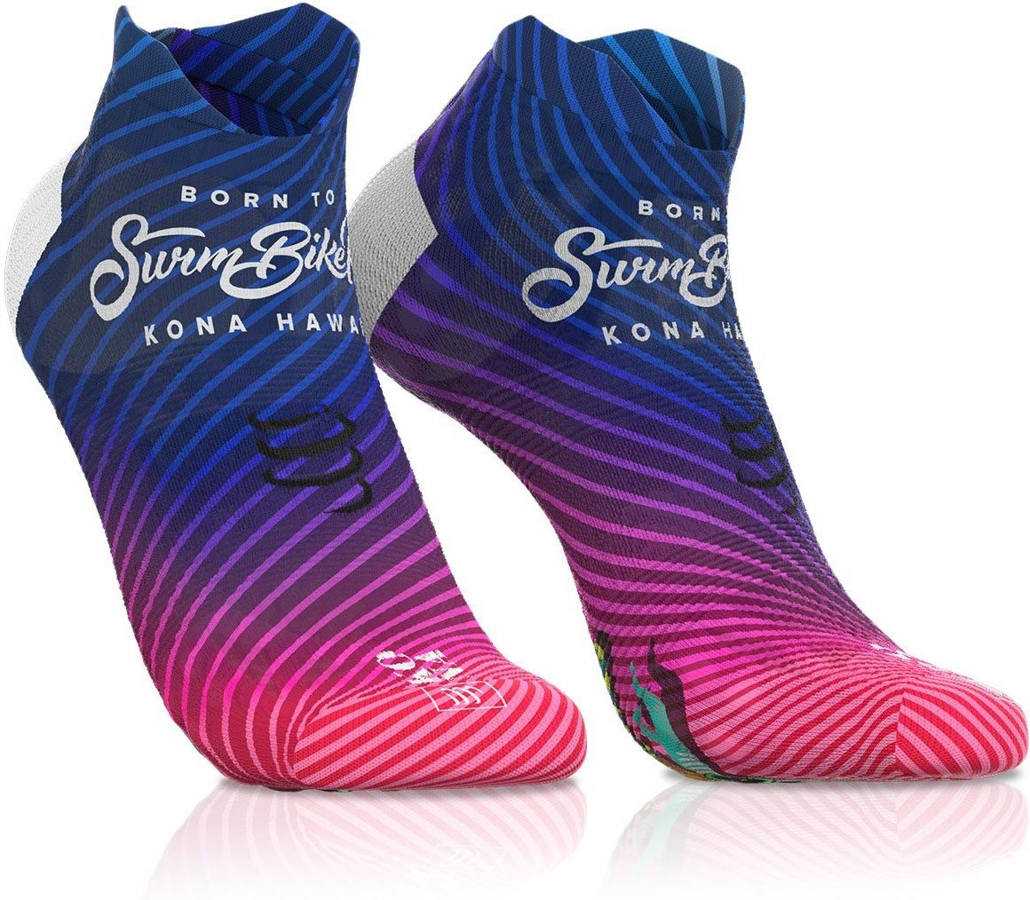 Compressport Calcetines Pro Racing Socks v3.0 Ultralight Run Low Edicion Kona Multicolor