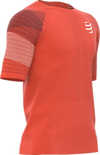 compressport Camiseta Racing SS Tshirt M Naranja
