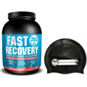 Pack Gold Nutrition Fast Recovery 1 Kg + Gorro Natacion Negro
