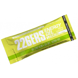 226ERS Energy Plus Gel BIO Limon con 25 mg de Cafeina en Stick - 40 geles x 25 gr