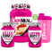 Pack Beverly Nutrition Lady Meal 1 kg + Define Body 12 90 caps  + Cellu Form12 90 caps + Bulevip Shaker 700 ml