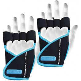 - Chiba Guantes Lady Motivation Negros y Azules S