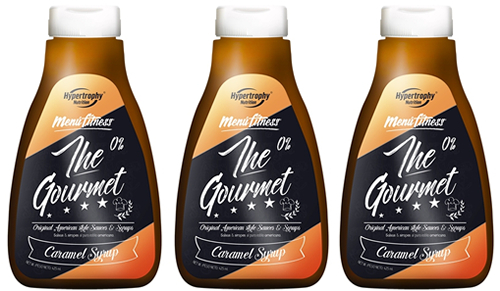 Hypertrophy Nutrition The Gourmet Sirope Caramelo 3 botes x 425 ml