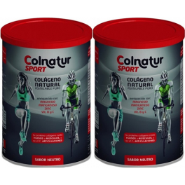 Pack Colnatur Sport Colageno Natural Neutro 2 botes x 330 gr