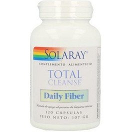 Solaray Total Cleanse Daily Fiber 120 Caps