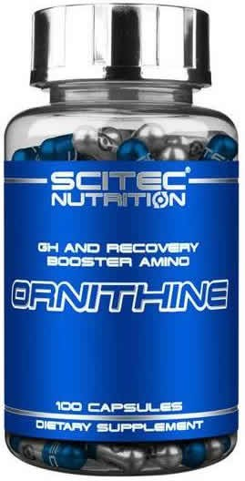 Scitec Nutrition Ornithine 100 caps