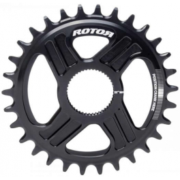 Rotor Plato Mtb noQ-ring QX1 Direct Mount Compatible Hawk-Raptor-Kapic Negro