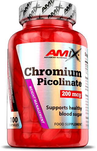 Amix Chromium Picolinate 200 mcg  100 caps