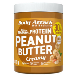 Body Attack Mantequilla De Cacahuete 1 Kg - Smooth