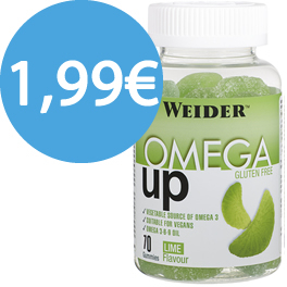 Cad.30/09/19 Weider Omega UP Gummies 70 Gominolas