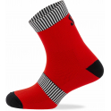 - Spiuk Sportline Calcetín Top Ten Medio Largo Unisex - Rojo 36-39