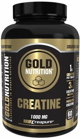 Gold Nutrition Creatina Creapure 1000 mg 60 caps