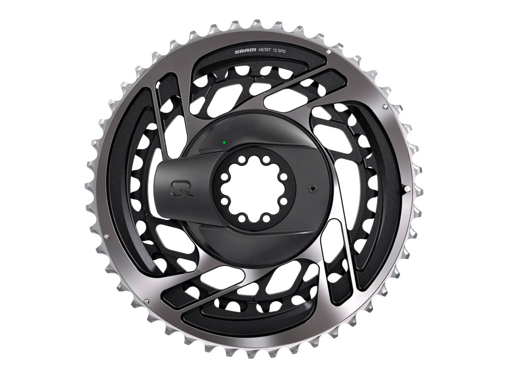 Sram Kit Powermeter Araña+platos 50/37 Dm Red Axs Polar Grey