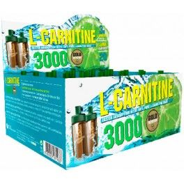 Gold Nutrition L-Carnitine 3000 mg 20 viales x 10 ml