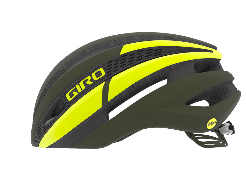 Giro Synthe Mips 2019 Matte Olive/citron L