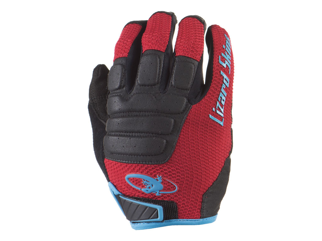 Lizard Guantes Lizard Monitor Hd Crimson/jet Black M