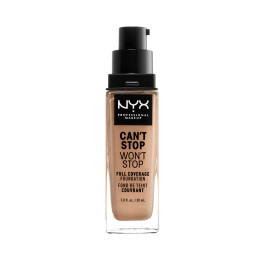 Nyx Can't Stop Won't Stop Full Coverage Foundation Medium Buff Mujer