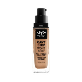 Nyx Can't Stop Won't Stop Full Coverage Foundation Neutral Buff Mujer