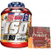 Pack BIG ISO 90% CFM Whey Isolate 1.8 Kg + Max Protein Turron Proteico Edicion Limitada Christmax Doble Pack 400 gr