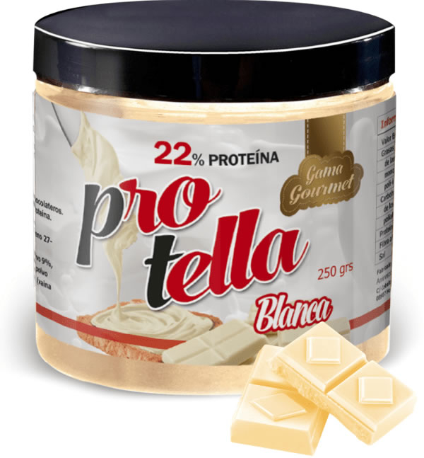 Protella Crema de Chocolate Blanco 250 gr