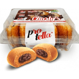 Protella Charly's Bollitos Rellenos de Chocolate 5 uds - 230 gr