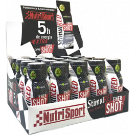 Nutrisport Stimul Red Ener Shot 20 botellitas x 60 ml