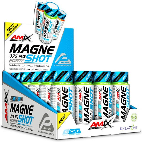 Amix Performance MagneShot Forte 375 mg 20 viales x 60 ml