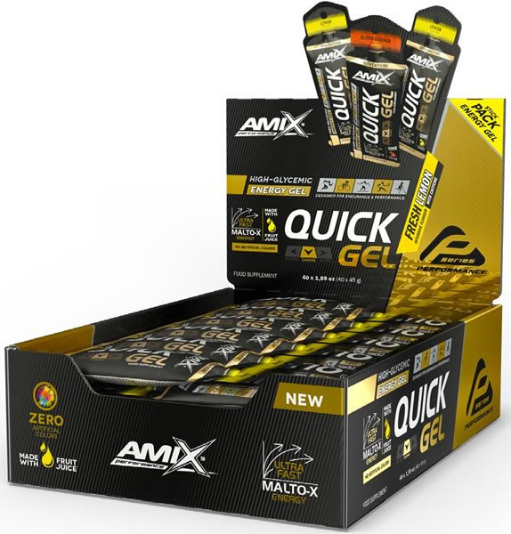 Amix Performance Quick Energy Gel 40 geles x 45 gr