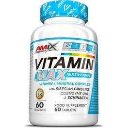 Amix Performance Vitamin MAX Multivitamin 60 caps