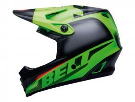 Bell Full-9 Fusion Mips 2020 Green/black/crimson S