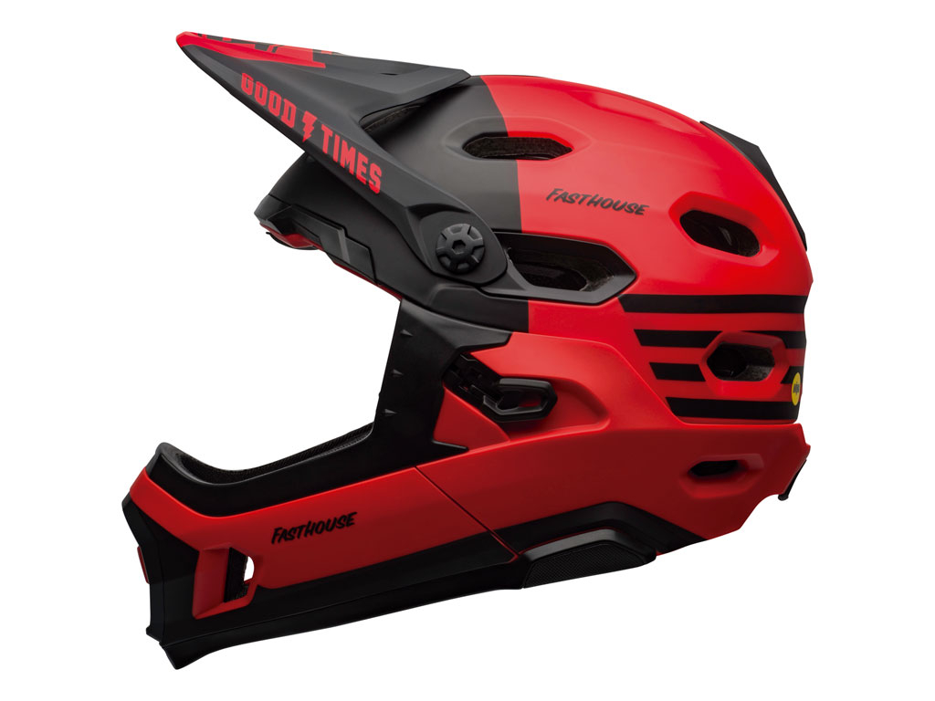 Bell Super Dh Mips 2020 Red/black Fasthouse L