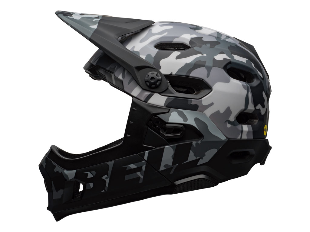 Bell Super Dh Mips 2020 Black Camo M