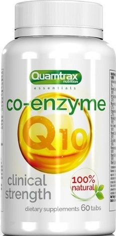 Quamtrax Nutrition Co-Enzyme Q10 60 caps