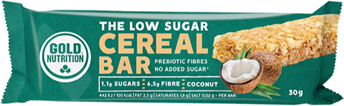 Gold Nutrition Cereal Bar Low Sugar 1 barrita x 30 gr