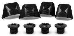 Absolute Black Repuesto - Road Bolt Covers - Ultegra 8000 Covers + Bolts Black