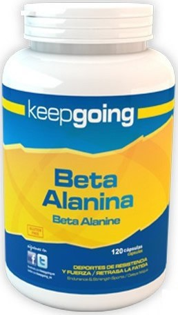 Keepgoing Beta Alanina Cápsulas 120 caps
