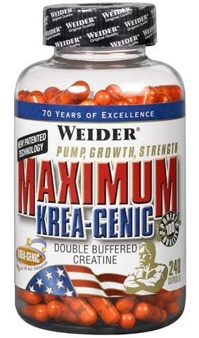 Weider Maximum Krea-genic 240 Caps