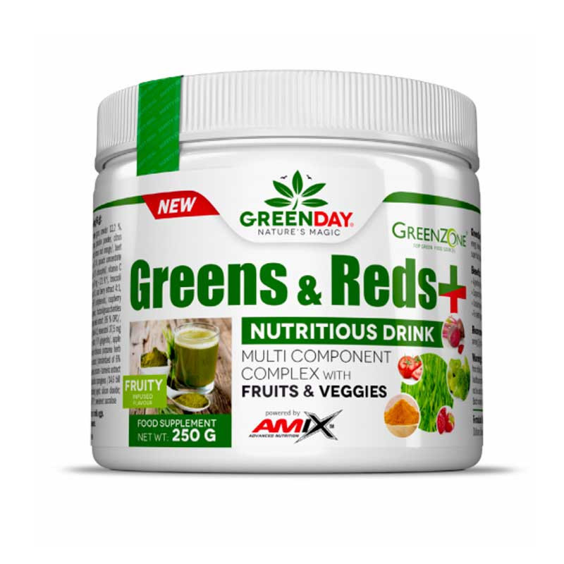 Amix Greenday Greens & Reds + 250g