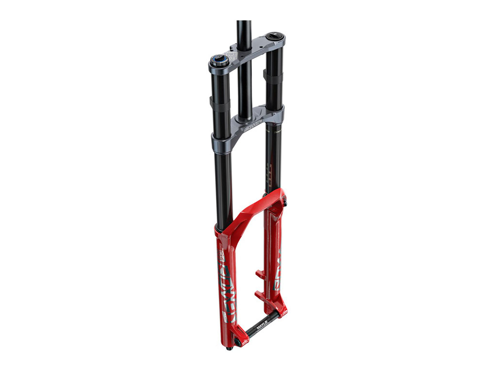 """Rockshox Boxxer Ultimate Charger2.1 Rc2 29"""" Boost 20x110 200mm Red 56 Offset Debonair C2"""