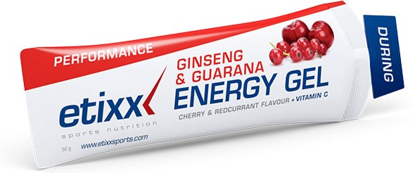 Etixx Energy Gel - Ginseng y Guarana 1 gel x 50 gr
