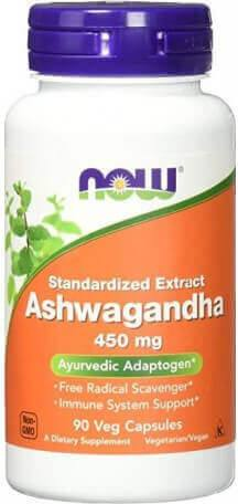 Now Ashwagandha Extracto 450 Mg 90 Vcap