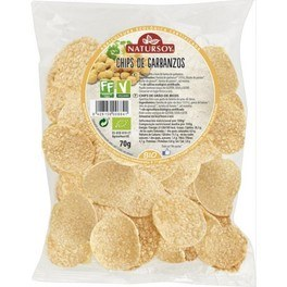 Natursoy Chips De Garbanzos 70 Gr