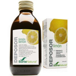 Soria Natural Deposor Limon 240 Ml