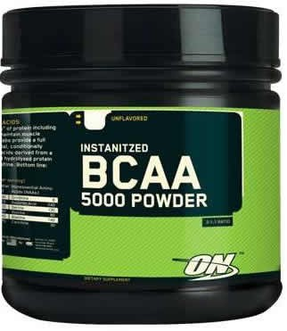 Optimum Nutrition BCAA 5000 Powder 324 gr