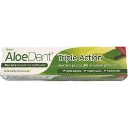Madal Bal Dentifr Aloe Vera Triple Accion 100 Ml