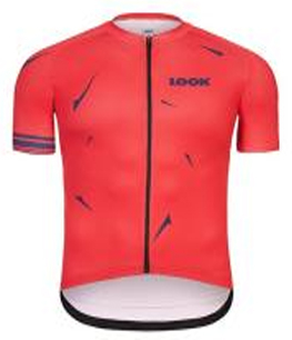 Look Maillot Optimum Granate (m)